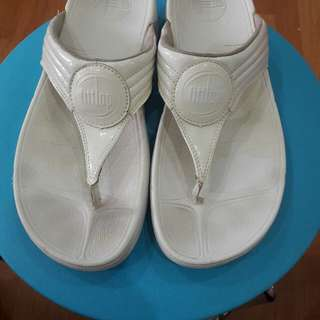 Fitflop Classic white slippers