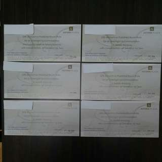 Astoria Hotel Vouchers (Set C)