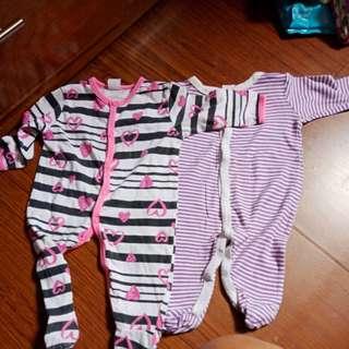 Sleepsuit baby gap 2 pcs