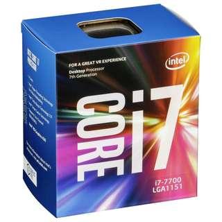 Intel Original LGA1151 7th Gen - i7-7700