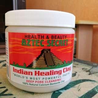 AZTEC SECRET Indian Healing Clay Mask authentic 1lb - perfect valentines treat