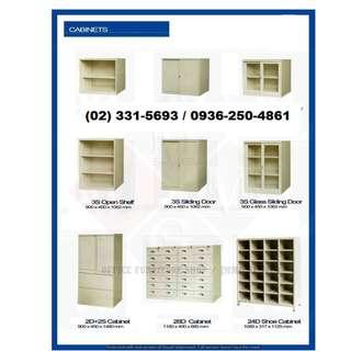 ( Lateral-Vertical-Metal Rack-Lockers ) Office Furniture *