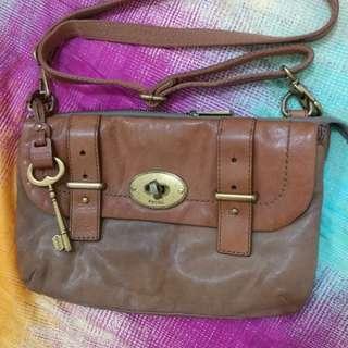 Ori Fossil mini postman sling bag