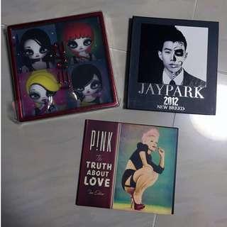 收藏向-2ne1, Jay Park, P!NK CDs(全部未聽過)