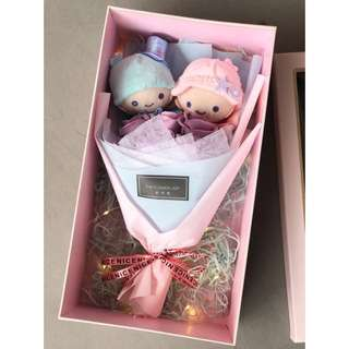 ❤️Little Twins Stars bouquet /gift box / led light