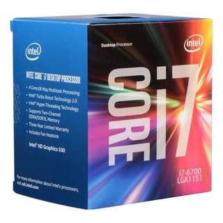 Intel Original Box - i7-6700 3.4G