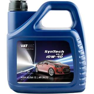 "VatOil SynTech LL-X 10W-40 ""Semi-Synthetic"" 4 liters"