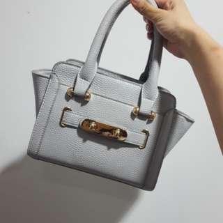 Grey Swagger handbag sling bag beg tangan handcarry 灰色手提包 斜背包