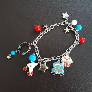 Bright Star Cupcake Butterfly Bracelet