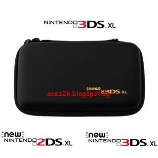 [BN] 2DS / 3DS new / XL / LL Airfoam Hard Carrying Pouch (Brand New)