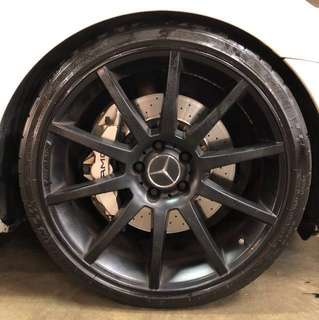 AMG Big Brake Kit (BBK)