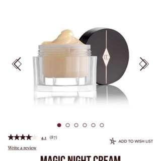 BRAND NEW Charlotte Tilbury Magic Night Cream