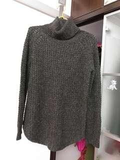 新款灰色冷衫