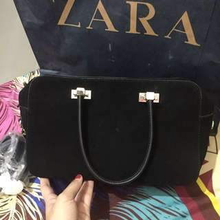 Zara handbag (ada tali panjang) sling bag