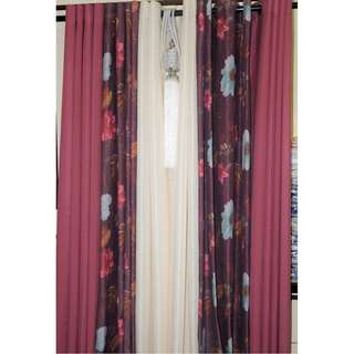 CURTAINS- FLORAL