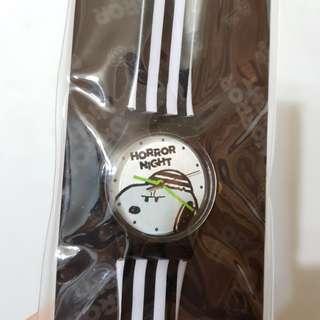 日本環球影城 史努比 snoopy 監獄風黑白 手錶