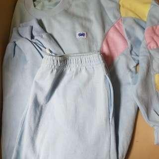 Baju Training 1set size XL
