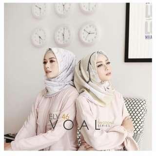 Hijab voal elv hijab