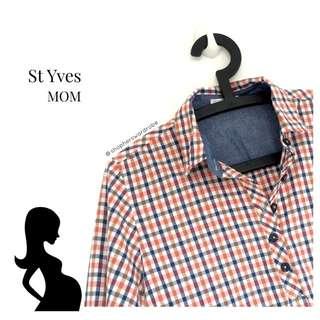 St Yves Mom Checkered