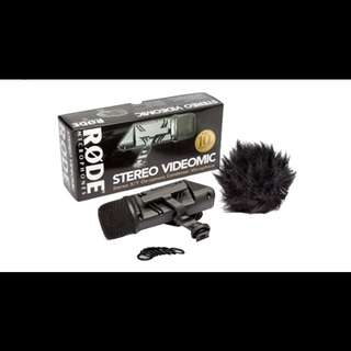 Rode Stereo VideoMic X/Y On-Camera Condenser Microphone