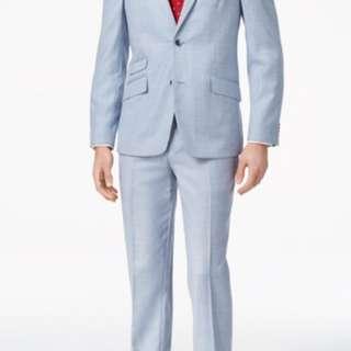 Ben Sherman Men's Slim-Fit 2 piece suit 42r