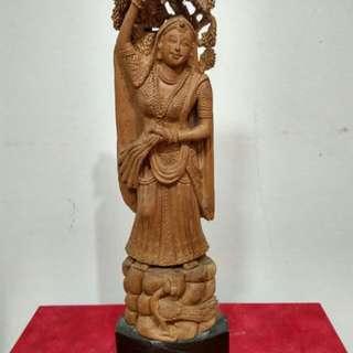 Beautifully handcrafted sandal wood decorative item