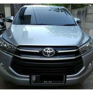 Toyota Innova Reborn 2.0 G MT Bensin 2017 UpGrade Lux Silver KM Low - LikeNew