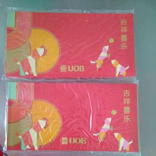 Uob Red Packet 2018 11 packs available