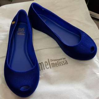 CNY BN in stock Melissa Mel Maxi Flocado US 13 Eur 31
