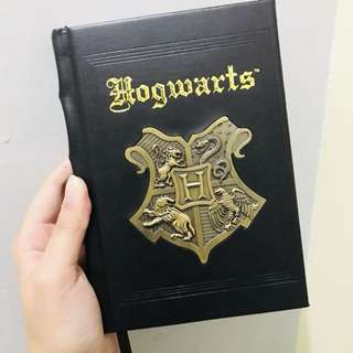 💯AUTH Harry Potter Leather Bound Journal