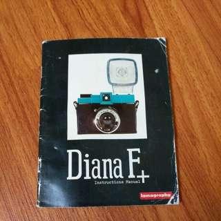 Lomography Diana F+ Instructions Manual