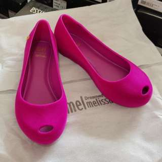 CNY BN in stock Melissa Mel Maxi Flocado US 12 Eur 30