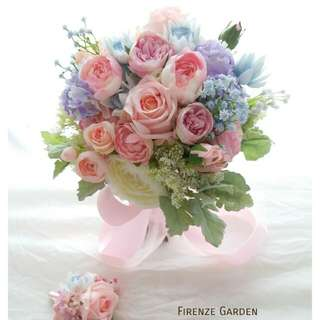 Firenze Garden 絲花花球設計服務