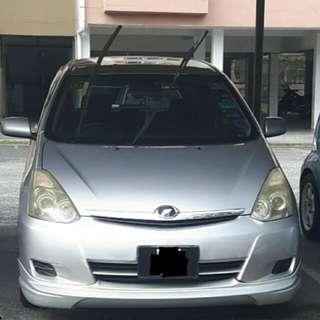 Toyota wish 1.8 2006 reg 2011