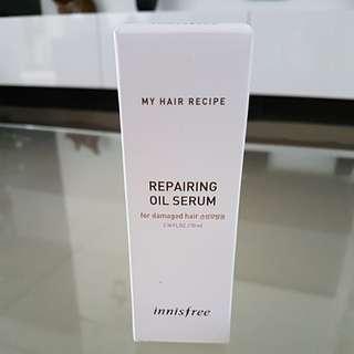 Brand new Innisfree repairing oil serum