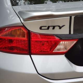 Honda City 2015 rear light