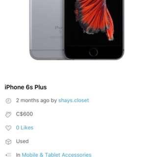 iPhone 6s Plus trade