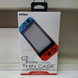 Nyko Switch Thin Case + Tempered Glass