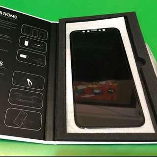 Iphone X 全粘 全屏 弧邊防窺 鋼化玻璃保護貼
