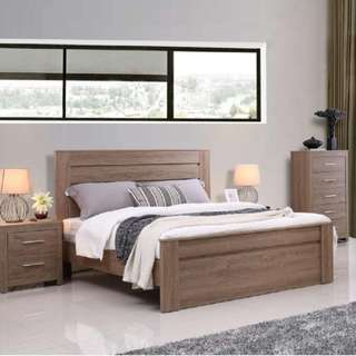 Jason 4 piece Bedroom Set Double Size
