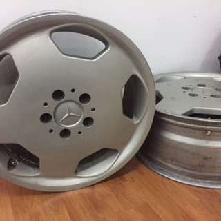 "Mercedes Original Sport Rim 17"""