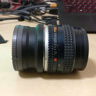 Minolta MD 50mm F1.7 lens with E-mount converter