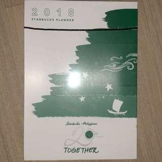 STARBUCKS 2018 PLANNER any color