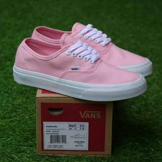 VANS AUTHENTIC PINK WHITE (PREMIUM)
