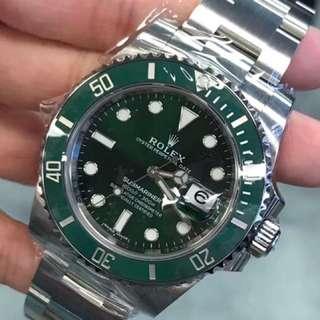 二手 Rolex 116610LV 綠水鬼