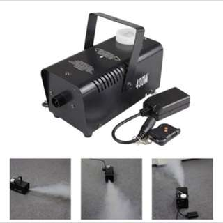 Mini 400W White Smoke Remote Control Smoke Fog Machine Stage Light Effect W400