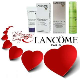Lancome Energie De Vie Liquid Care (5ml) + Lancome Renergie Yeux Multi-Lift Anti-Wrinkle Eye Cream (3ml)