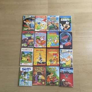 Cheap! Children's DVDs