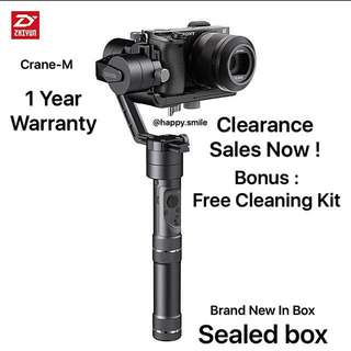 Clearance Stock ! Zhiyun Crane M