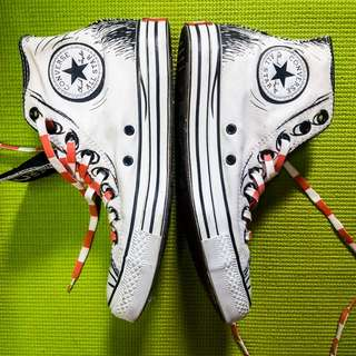CAT IN THE Hat Converse Sneakers